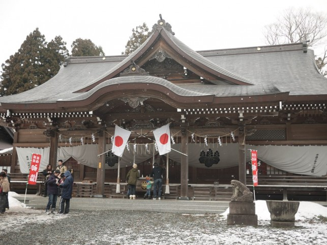 おいらせ町にある神社です。
