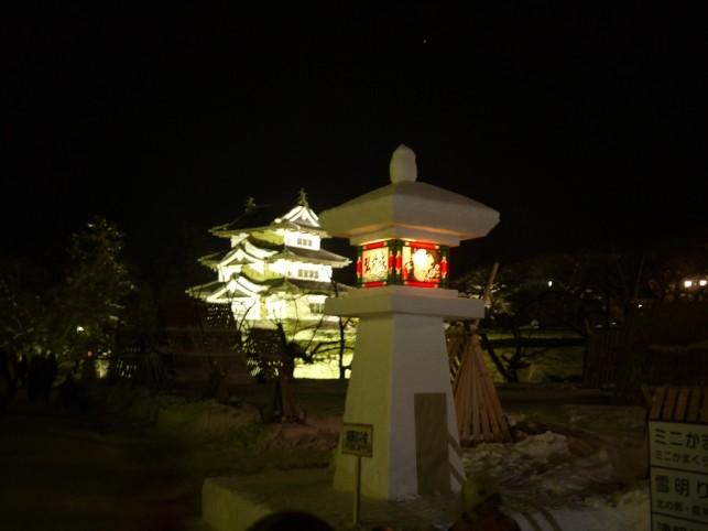 雪燈籠まつり&雪明り in 弘前