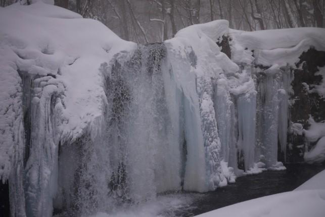 冬の奥入瀬渓流~銚子大滝~