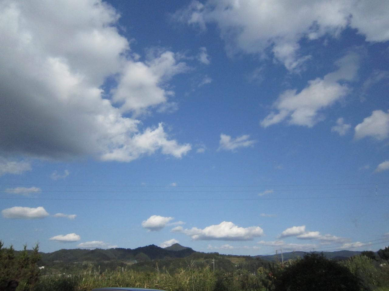 青森 津軽 大鰐町 春 朝 晴天 山 自然 風景