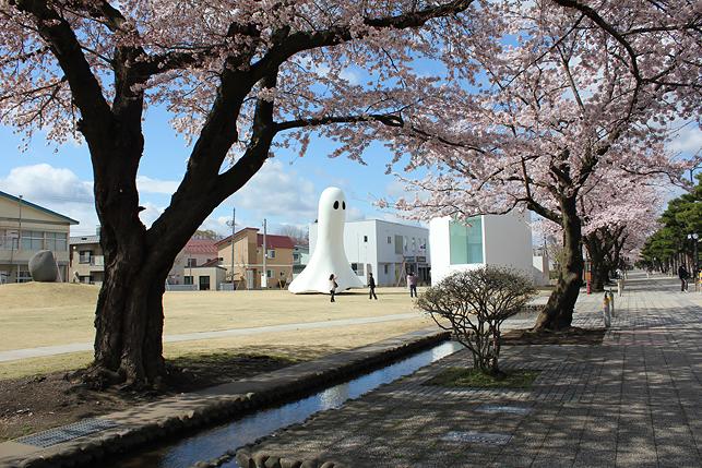 ゴーストくんと桜