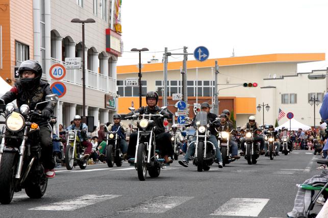 三沢アメリカンデー アメリカンパレード