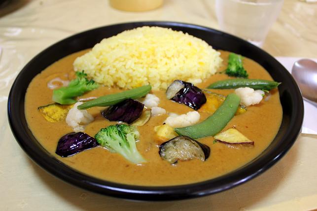 野菜カレー700円