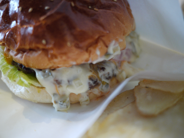ヨツバのハンバーガー