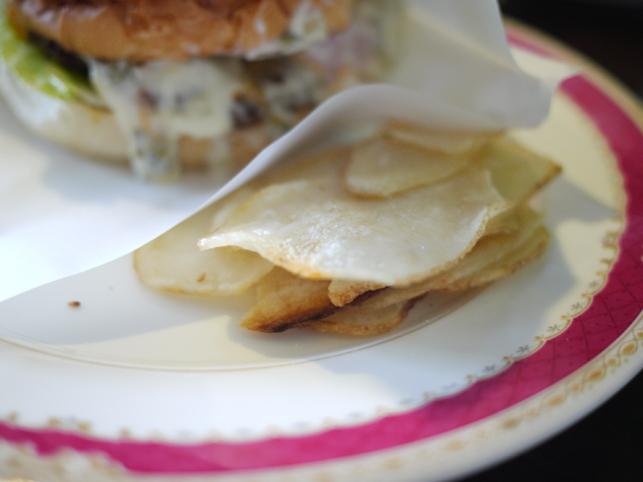 ヨツバハンバーガーのポテト