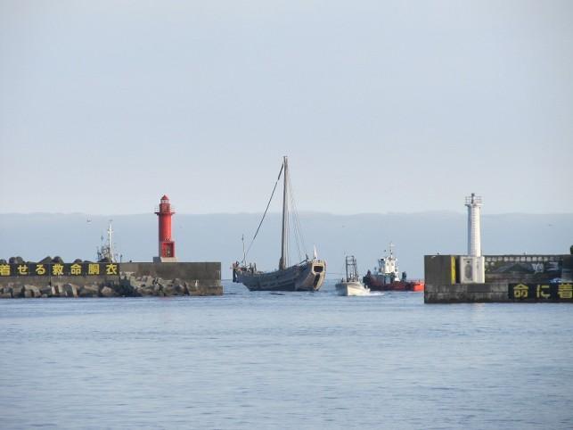 20110719北前船出航