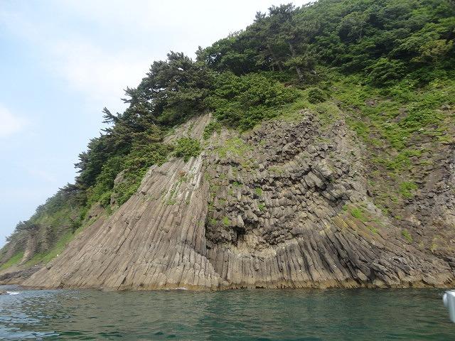 青森 津軽 青森市 風景 昼 夏 海 島 湯の島 浅虫
