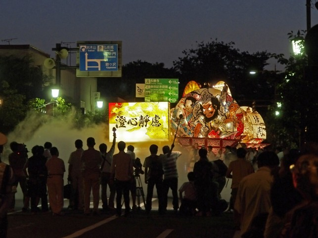 20110731弘前ねぷた-運行開始