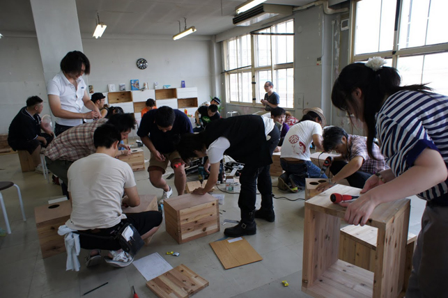 手作りカホンで心を一つに -手作りカホンプロジェクト@bank towada-
