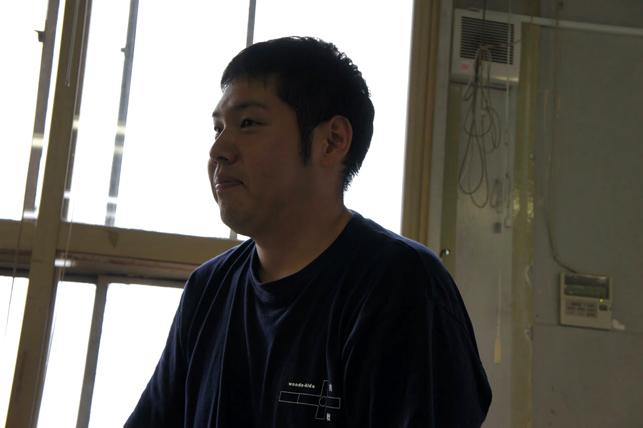 手作りカホンプロジェクト実行委員会・田中良平さん