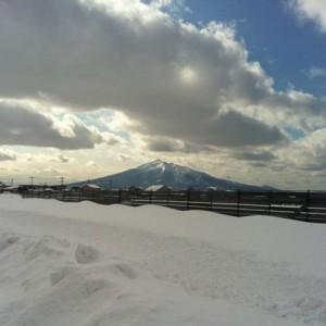 鶴田町から撮ってみましたー。(鶴田町)