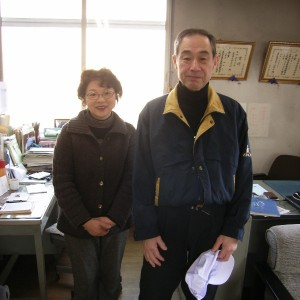 尾崎社長ご夫妻、夫婦髄鞘という感じです…(^0^)/