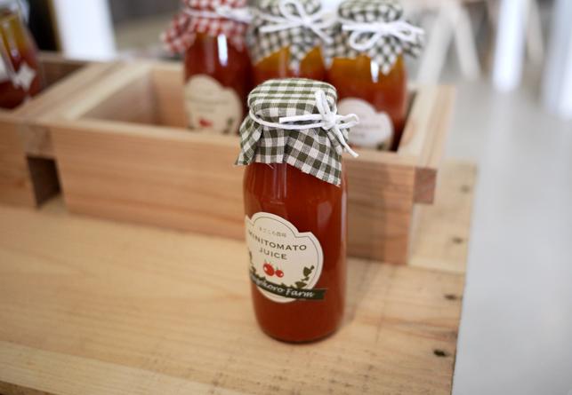 まごころ農場のトマトジュース