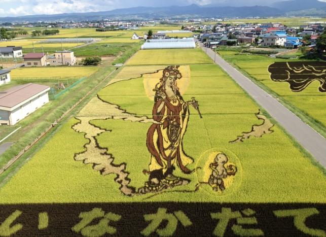 田んぼアート~2012~田舎館村