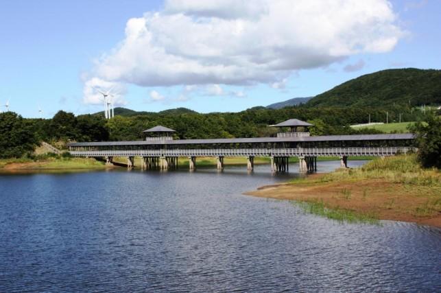 いよー! 日本一の木橋