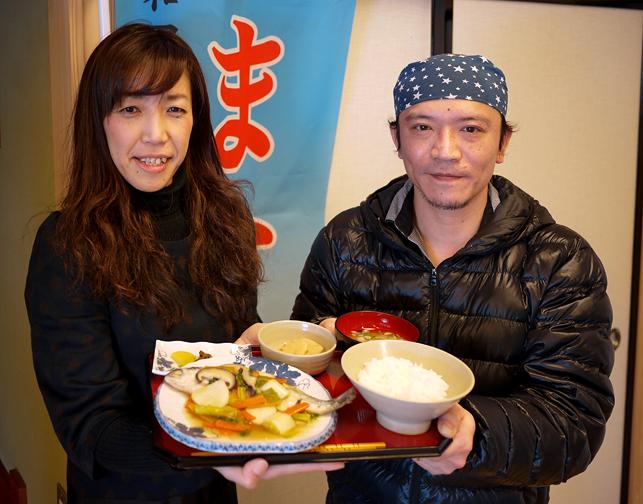 左:野菜ソムリエ・川島洋子さん 右:「神田川」代表・鈴木さん