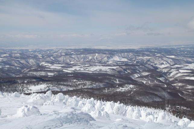 冬の八甲田とスノーモンスター