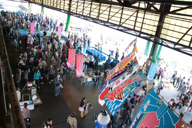 むつ市大畑海峡サーモン祭り2012