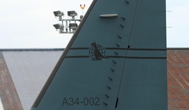 C-27Jの垂直尾翼