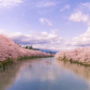 空と水と桜の間に