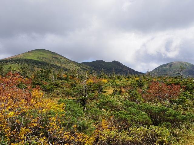 赤倉岳、井戸岳、大岳の三山