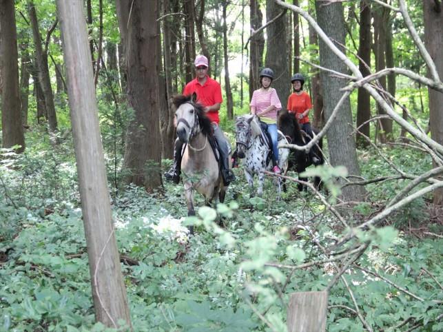 Sadol Paddle Pedal. カヌーと馬のトライアスロン