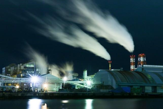 八戸の工場夜景
