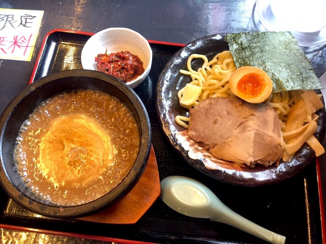 濃厚海老スープが旨い!札幌海老麺舎 三沢AIR BASE店